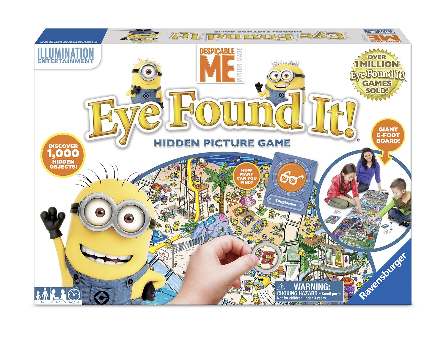 Ravens burger North America 60001664 Despicable Me Eye Found It