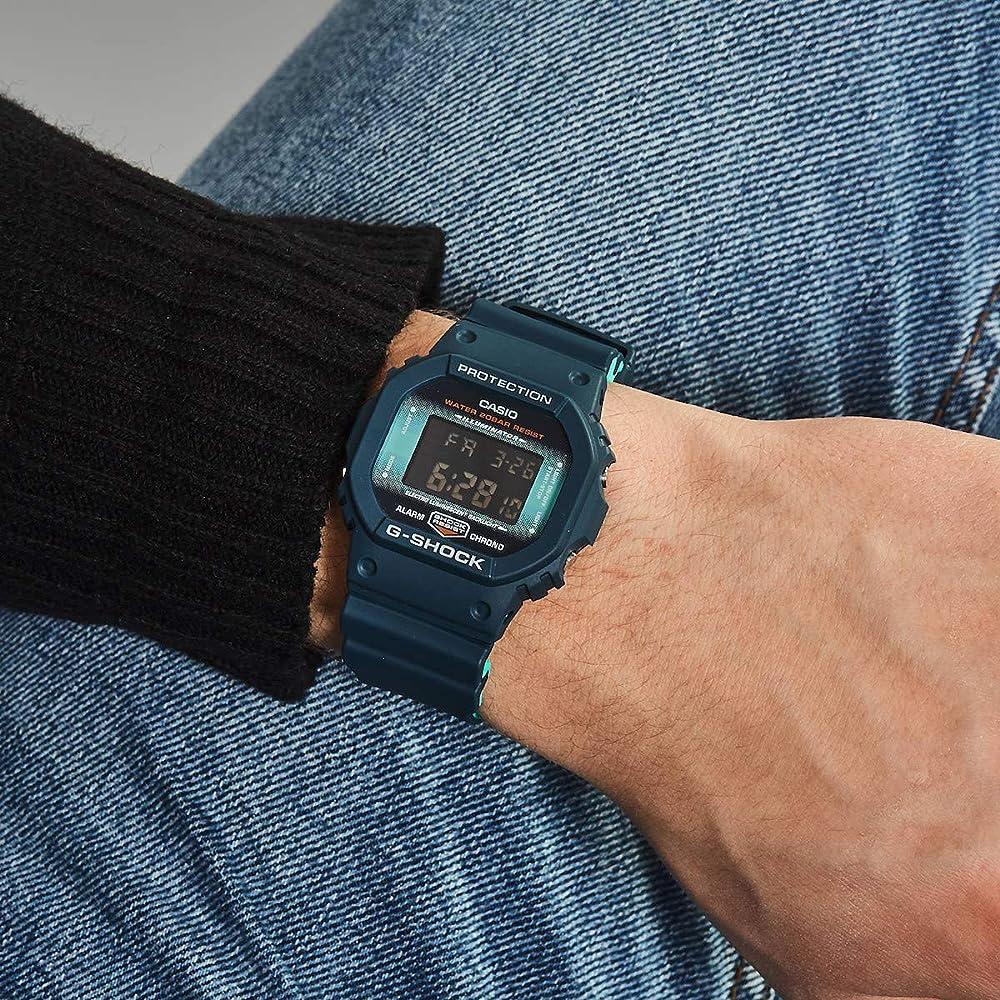 Casio G-SHOCK Reloj Digital, 20 BAR, Negro, para Hombre, DW-5600CC ...