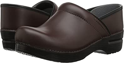 b4e5cea5 Amazon.com | Dansko Women's Professional Leather | Mules & Clogs