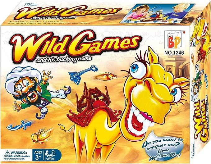 Neo- Camello Loco de Ali Baba Juego de Habilidad y Estrategia, Multicolor (1246): Amazon.es: Juguetes y juegos