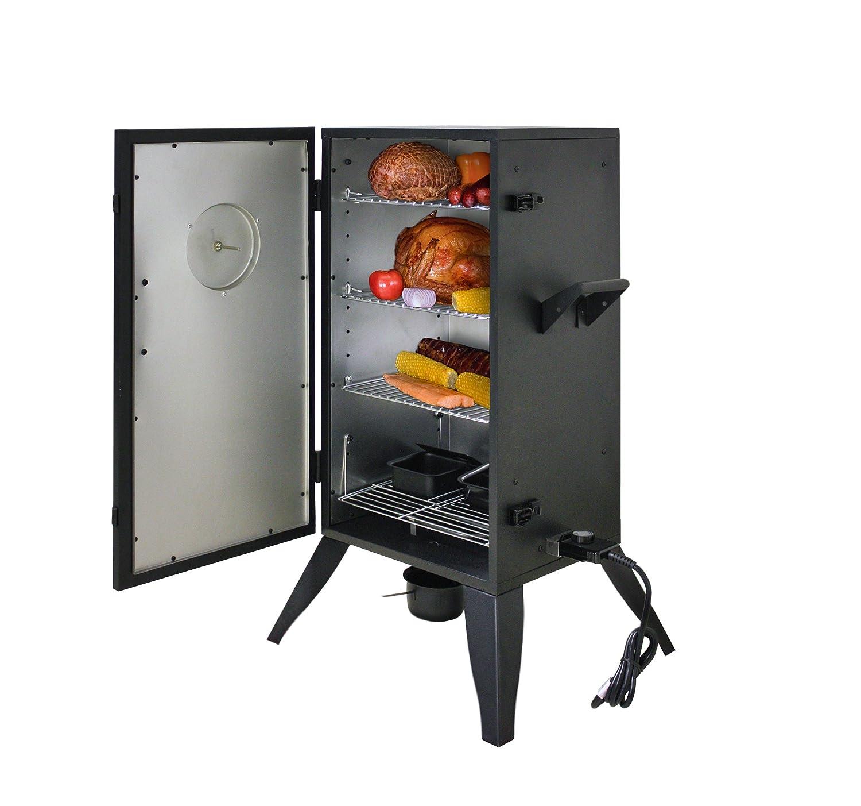 Amazon.com : Smoke Hollow 30162E 30 Inch Electric Smoker With Adjustable  Temperature Control : Garden U0026 Outdoor