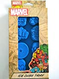 Icup Marvel Comics Heroes Ice Cube Tray Mold Iron Man, Hulk, Captain America Silicone