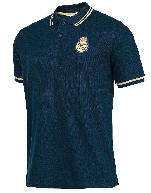 Real Madrid Polo Colección Oficial - Hombre: Amazon.es: Deportes y ...
