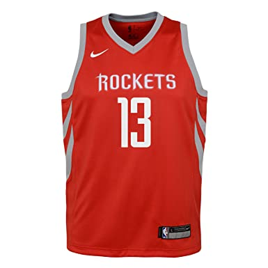 Nike NBA Houston Rockets James Harden 13 2017 2018 Icon Edition Jersey Oficial Away, Camiseta de Niño: Amazon.es: Deportes y aire libre