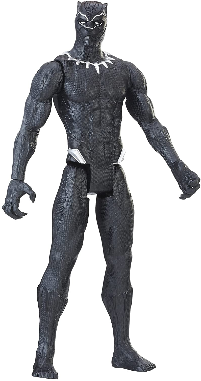 Marvel Black Panther Titan Hero Series 12-inch Black Panther