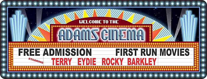 Amazon.com: Personalized Home Theater Decor with Vintage Style Movie ...