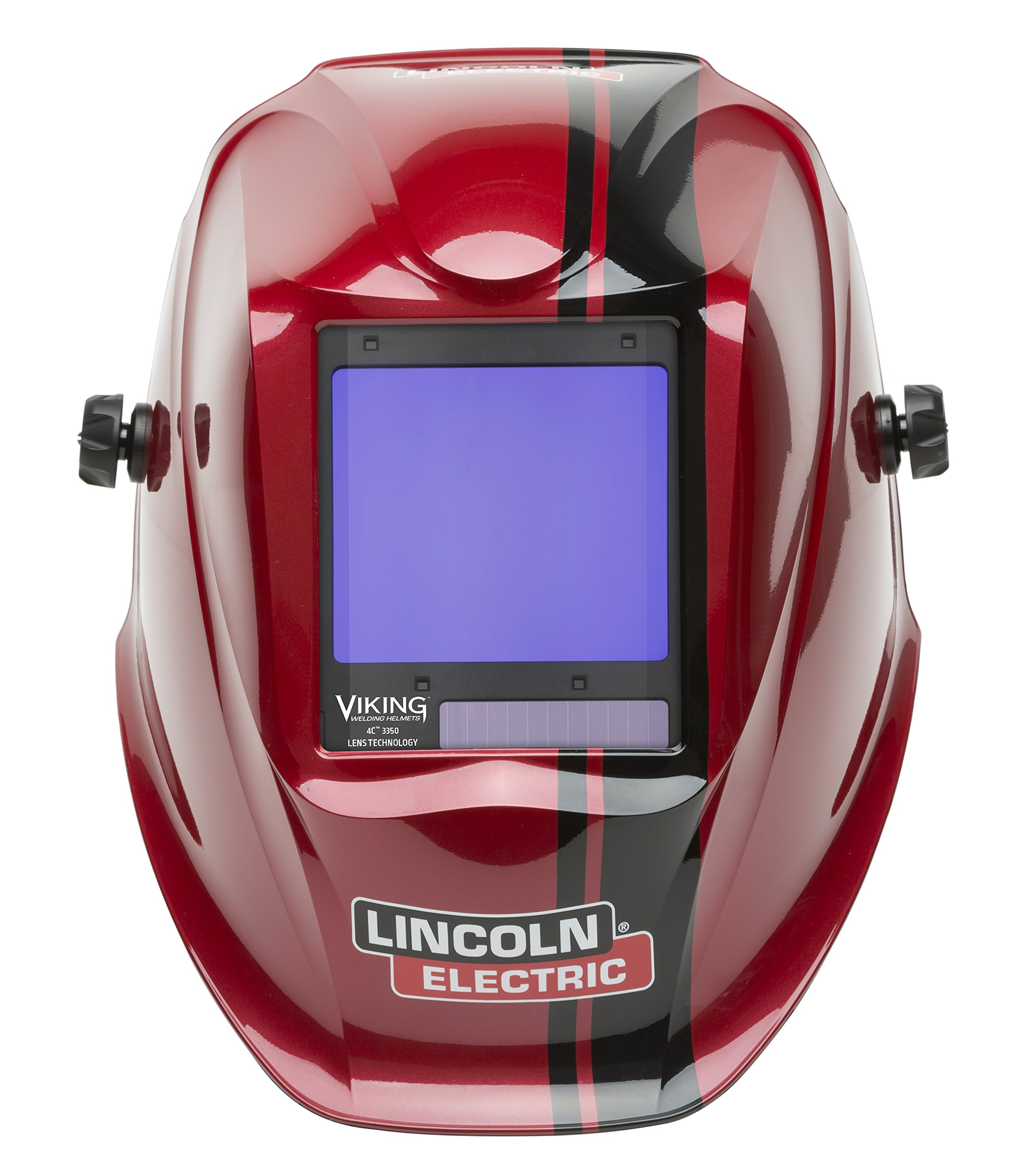 Lincoln Electric VIKING 3350 Code Red Welding Helmet with 4C Lens Technology - K4034-3 by Lincoln Electric (Image #2)