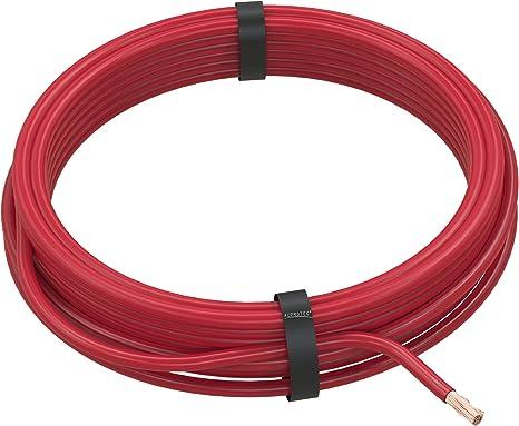 Auprotec Fahrzeugleitung 4 0 Mm Flry B Als Ring 5m Oder 10m Auswahl 5m Rot Auto