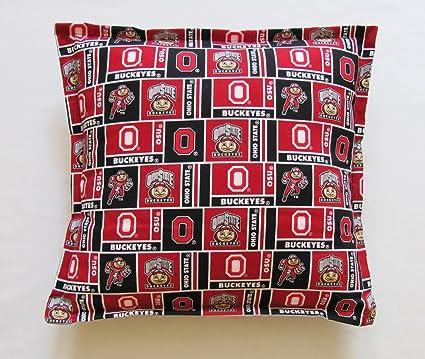 Amazon Ohio State Buckeyes Decorative Throw Pillows 40 Best Washable Decorative Pillows