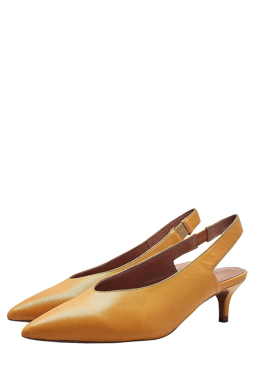 Next Mujer Zapatos de Piel con Tira Trasera y tacón Chupete ...