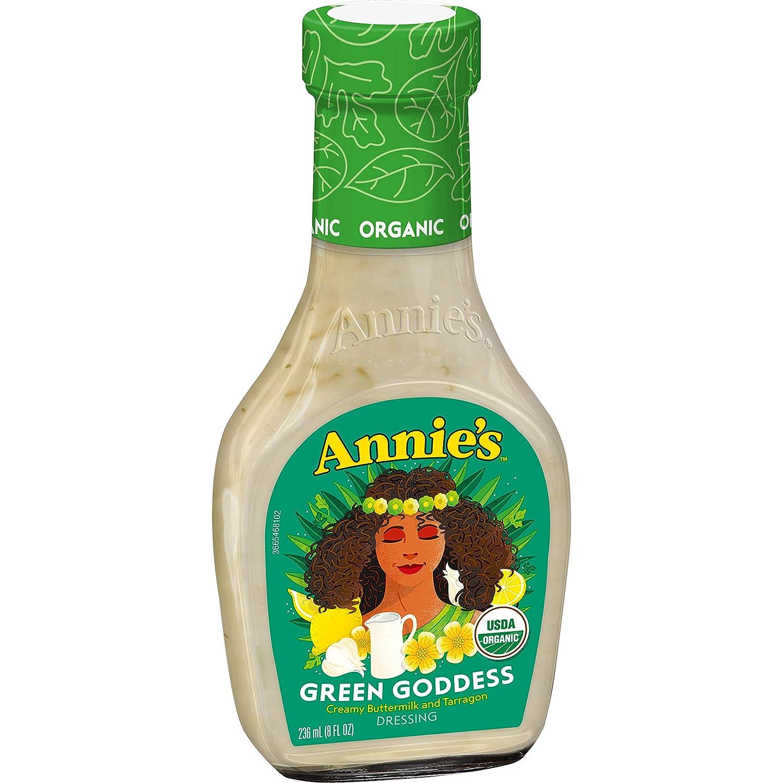 Annie's Green Goddess Salad Dressing, Certified Organic, Non-GMO, 8 fl oz