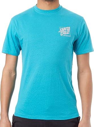 Santa Cruz Camiseta SC Squared Azul: Amazon.es: Ropa y accesorios