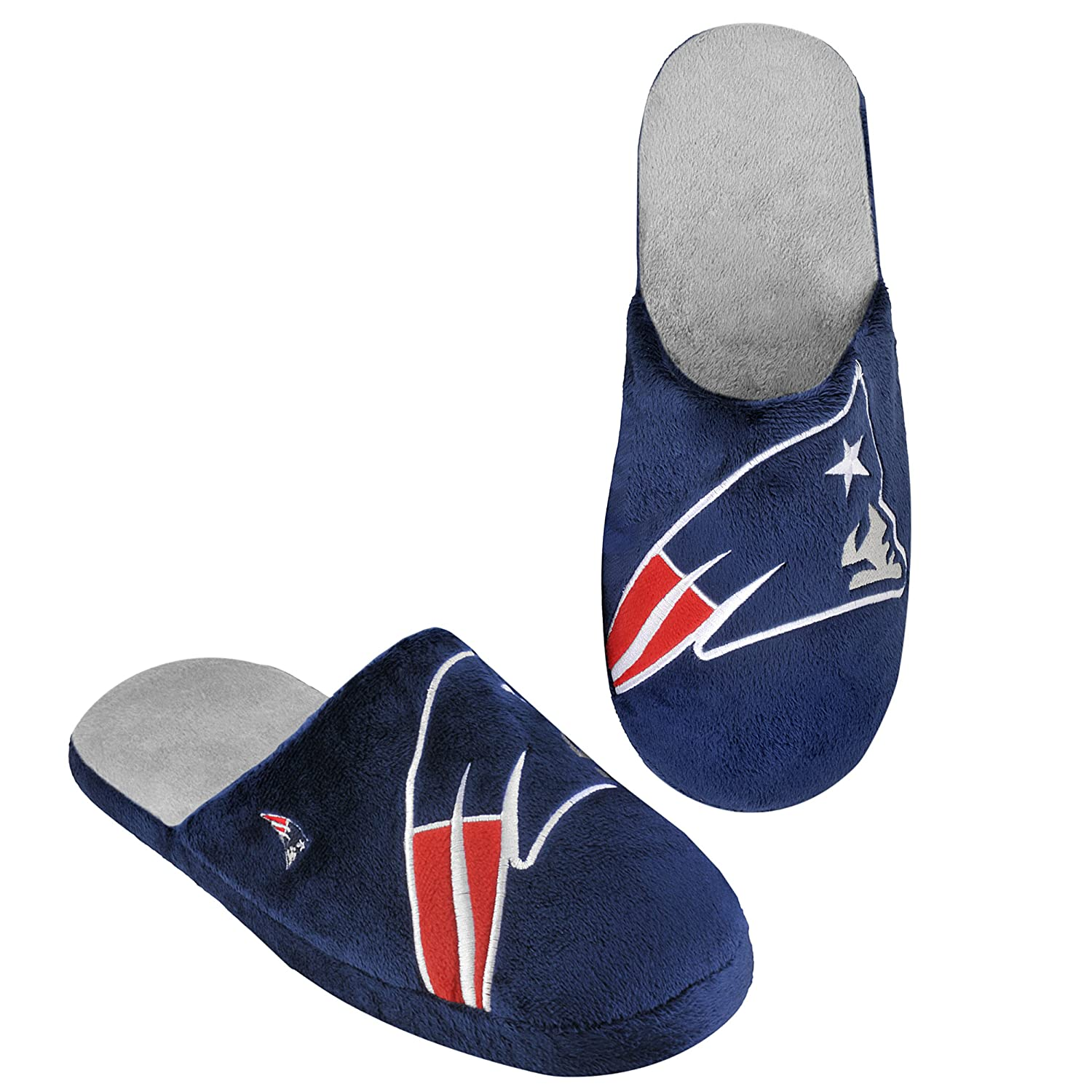 New England Patriots 2011 Big Logo Men Slipper Tpr Sole Small