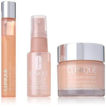 Clinique All About Moisture Kit All Skin Types for Unisex, 1 Ounce