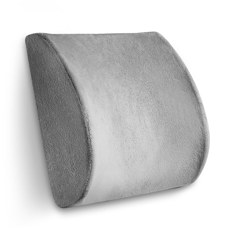 amazon com konnor strong lumbar support waist cushion backrest