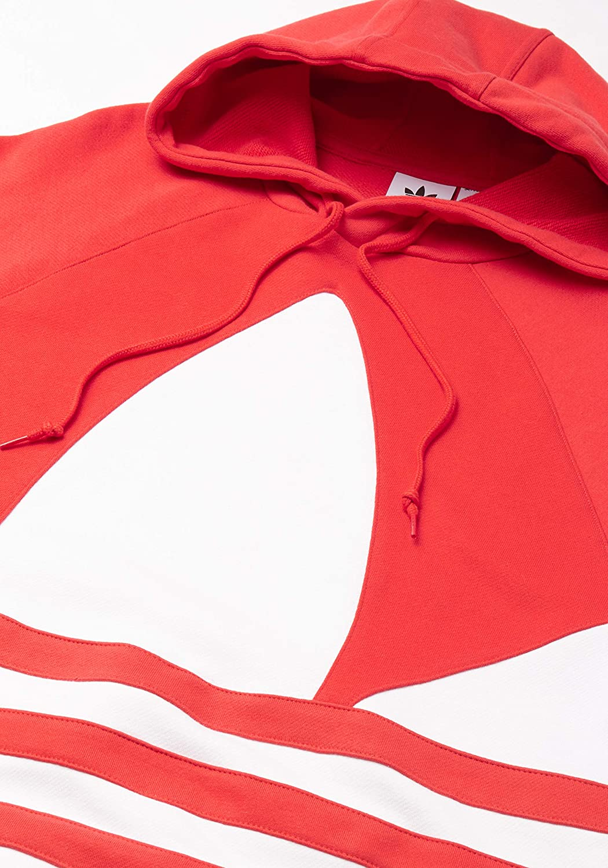 adidas Herren Bg Trefoil Hood Sweatshirt Lush Red