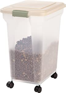 IRIS Premium Airtight Pet Food Storage Containers
