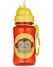 Skip Hop Forget Me Not Kid Straw Bottle, Marshall Monkey