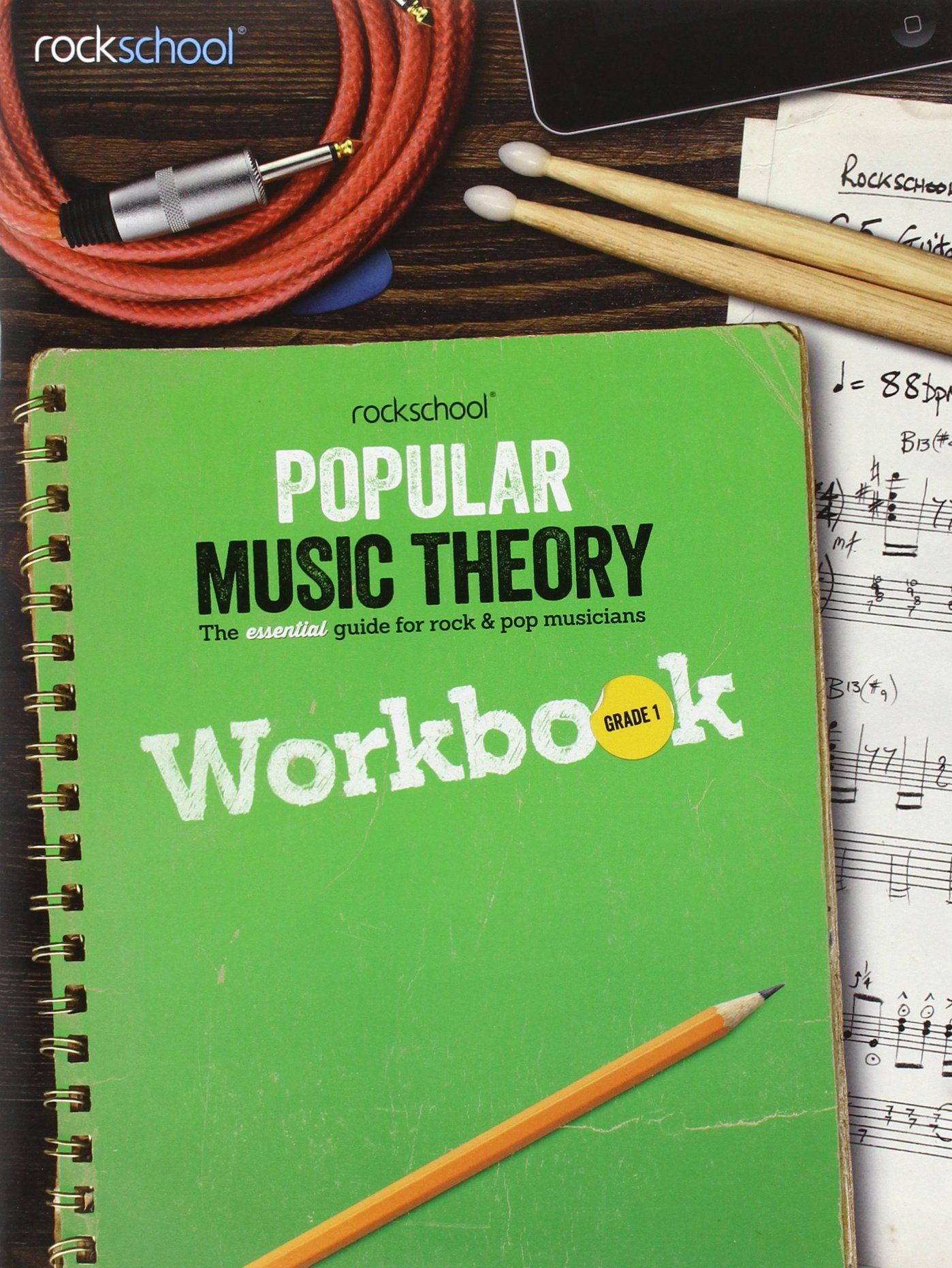 Rockschool Popular Music Theory Workbook Grade 1 Nik Basic Electrical Wiring Preston Libros En Idiomas Extranjeros