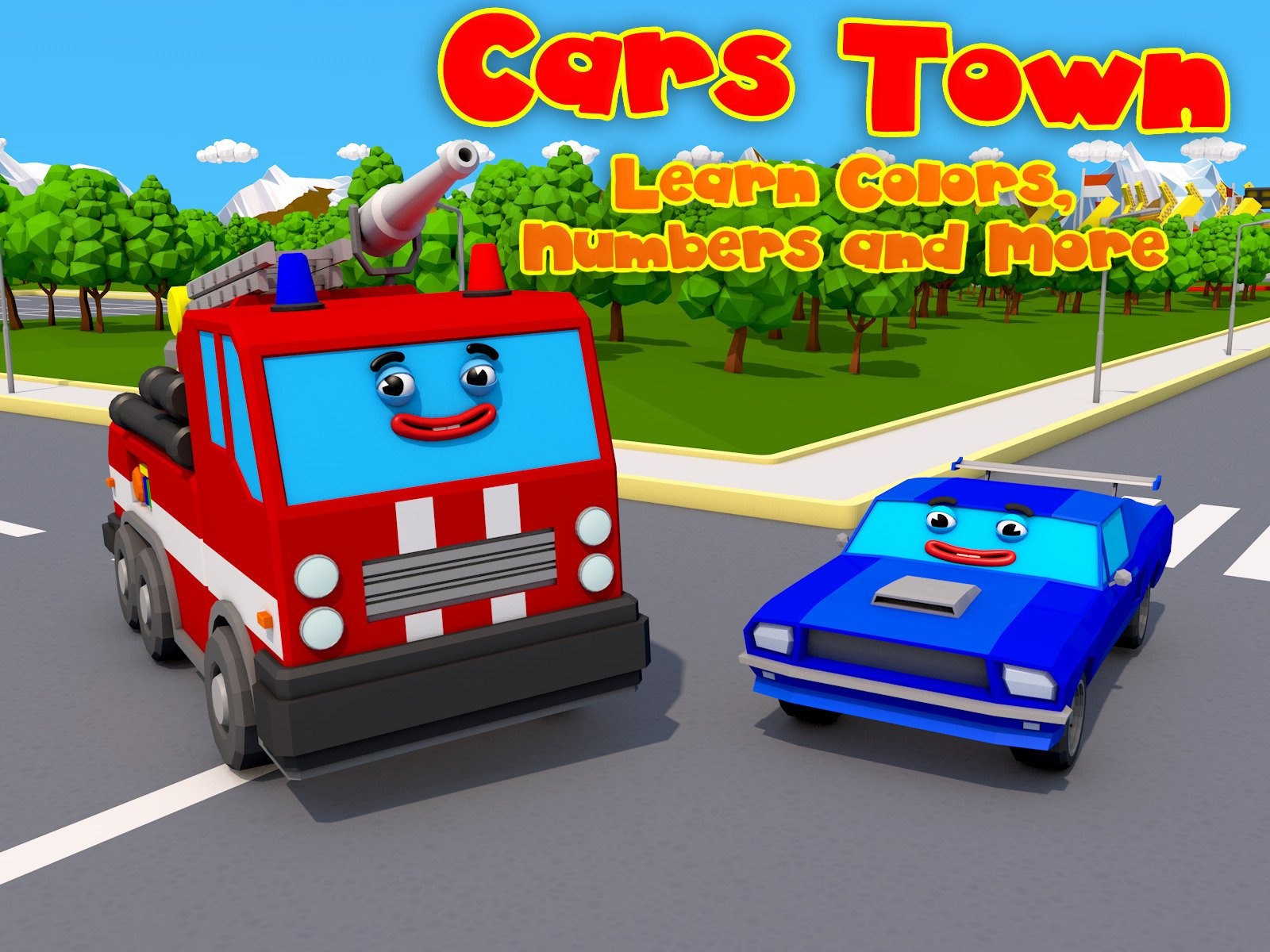 Cars Town on Amazon Prime Video UK