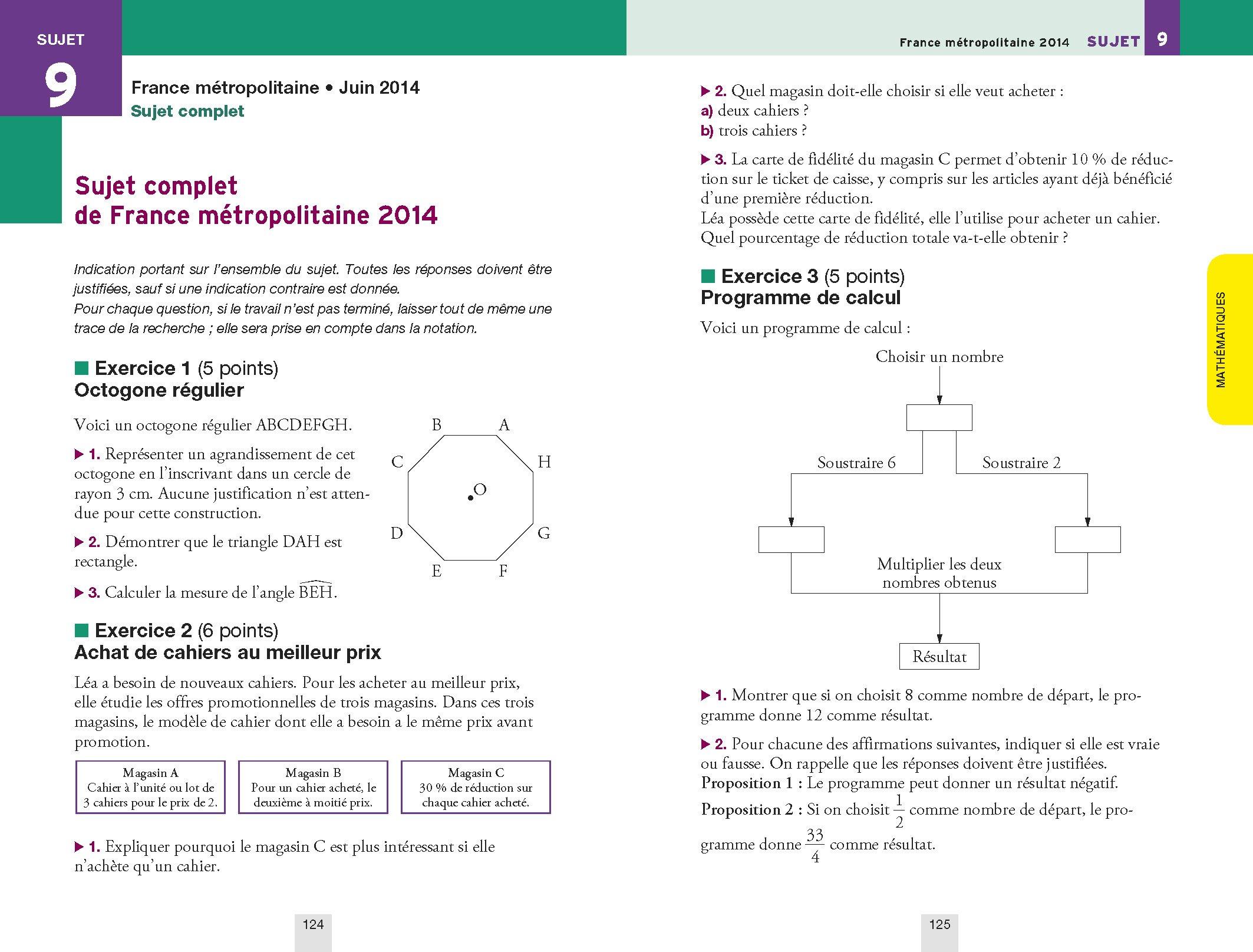 Annales Annabrevet 2015 Lintégrale 3e: sujets et corrigés du brevet dans toutes les matières: Amazon.es: Collectif: Libros en idiomas extranjeros
