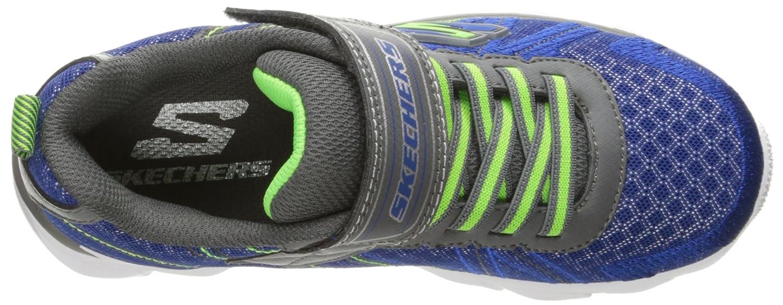 Skechers Kids Boys Advance-Hyper Tread Sneaker Charcoal//Black 4 M US Big Kid