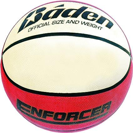 Baden Enforcer - Pelota de baloncesto, tamaño 5, color crema ...