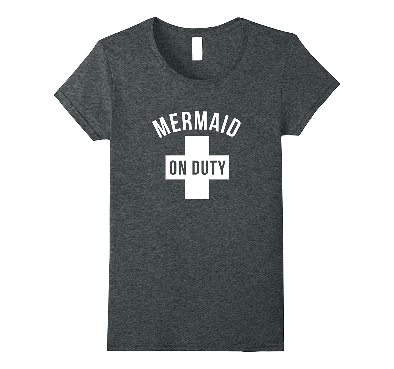 Lifeguard Mermaid On Duty funny shirt for summer swimming