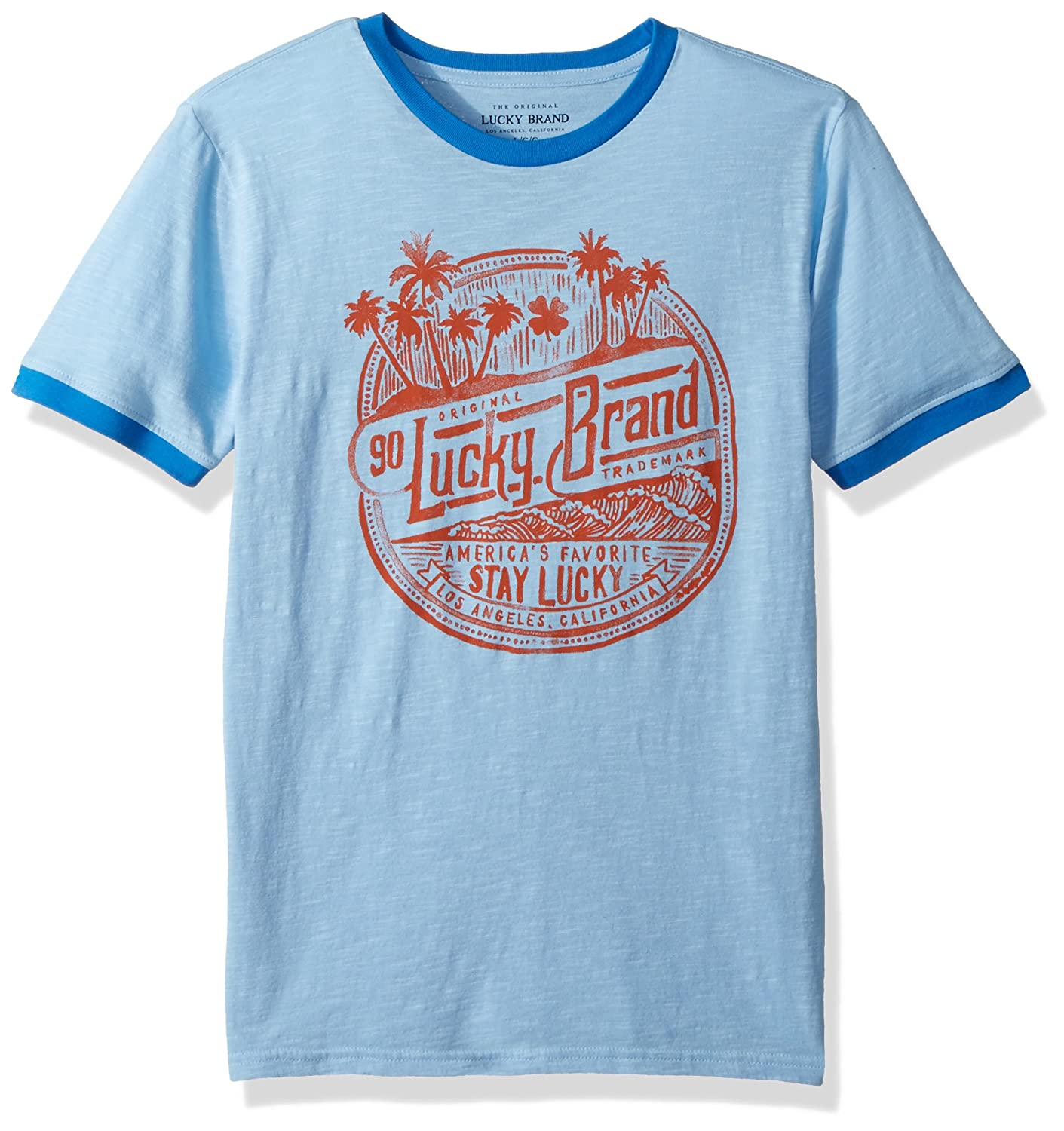Lucky Brand Boys Short Sleeve Classic Bear Tee Shirt
