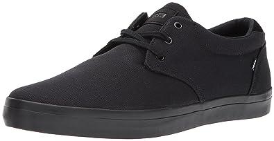 Mens Willow Skateboarding Shoes, Black Globe