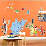 Dr Seuss Cat In The Hat Room Decor   Giant Wall Decals Part 98
