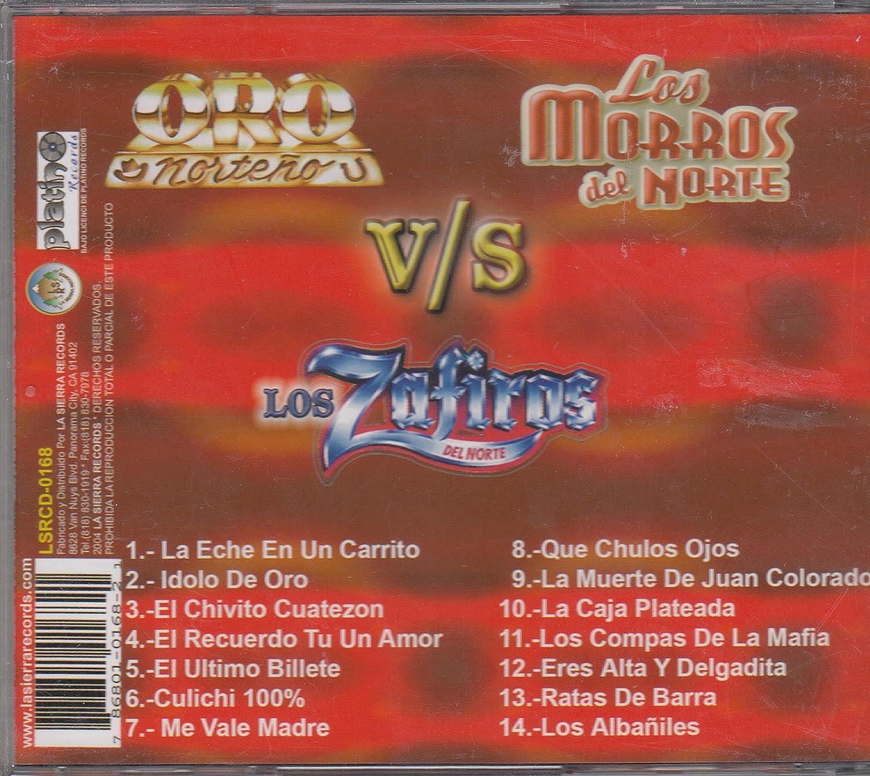 Los Morros de Norte V/S Los Zafiro del Norte - Los Morros de Norte V/S Los Zafiro del Norte: Agarron de Acordeones - Amazon.com Music