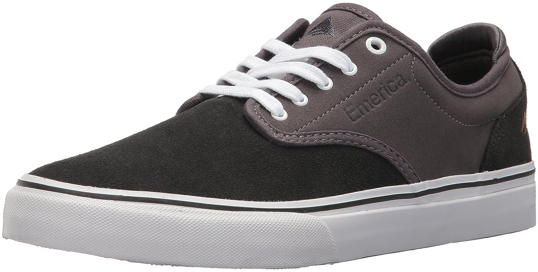 Emerica Men's Wino G6 Skate Shoe 6.5 D(M) US|Dark Grey/Grey