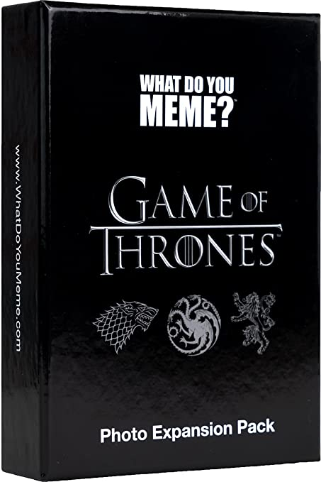 81x9A gzvQL._SY679_ amazon com what do you meme? game of thrones expansion pack toys