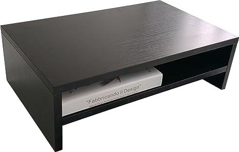 EVST Soporte de madera para ordenador portátil, TV, elevador de pantalla,