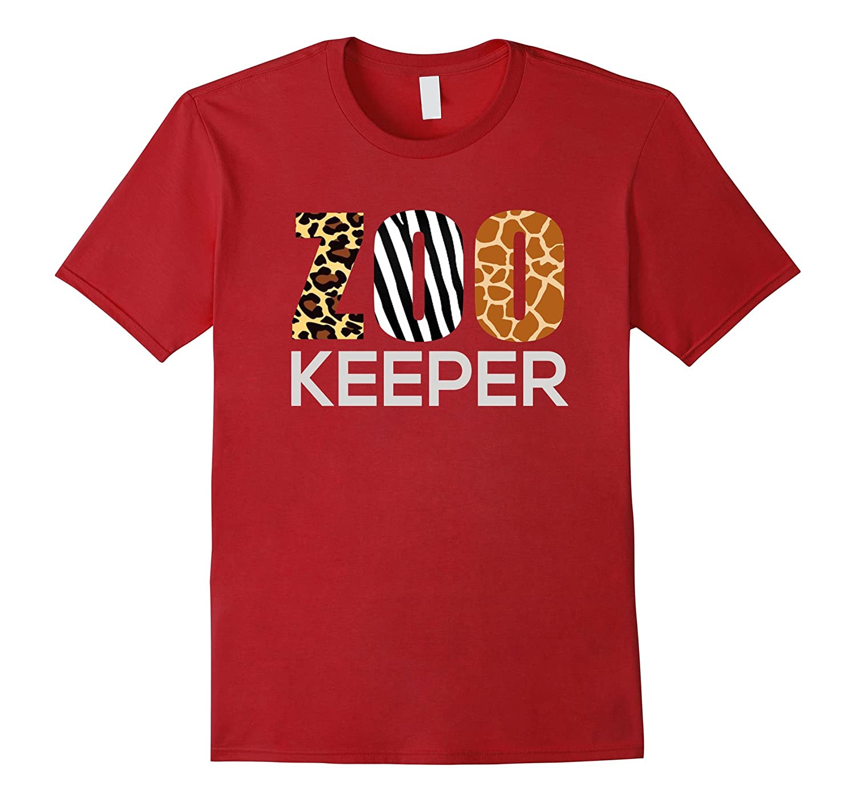 Zoo Keeper Safari T-Shirt Fun Gift For Animal Jungle Lover-ANZ