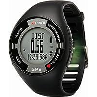 a-rival GPS- Uhr Mit Bluetooth, schwarz