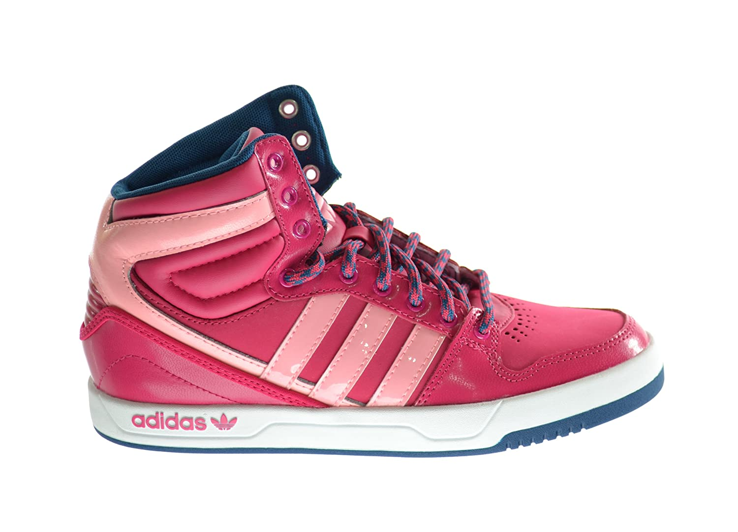 wholesale dealer cd683 a7041 Amazon.com Adidas Originals Court Attitude Big Kids Basketball Shoes Glow  PinkRunning White g99920 Shoes