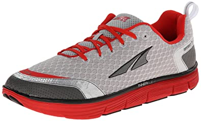 Altra Running Mens Instinct 3 Running Shoe SilverRed 8 M US