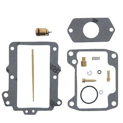 Race Driven OEM Replacement Carburetor Rebuild Repair Kit Carb Kit for Suzuki QuadRacer LT250R LT 250 250R: Automotive