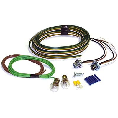 Blue Ox BX8869 Tail Light Wiring Kit, Bulb and Socket: Automotive