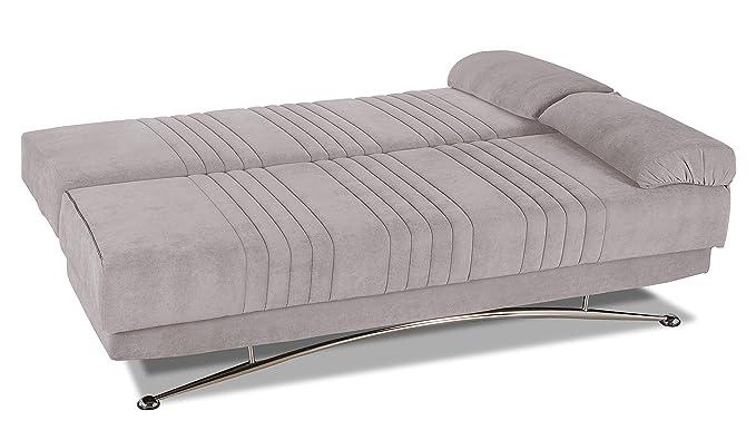 Arcobaleno - Sofá cama convertible en cama de matrimonio con ...