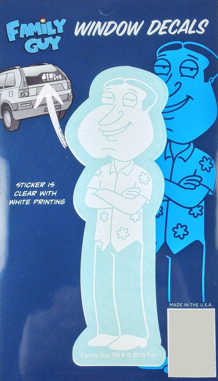 Amazon Com Family Guy Glenn Quagmire Auto Window Decal Sticker Officially Licensed Automotive