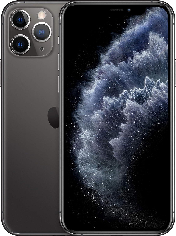 Apple iPhone 11 Pro Max, 64GB, Space Gray - Fully Unlocked (Renewed)