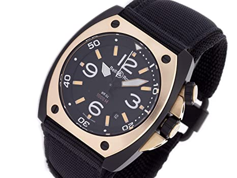 6270d2ccbc5 Amazon.com  Bell   Ross BR 02 Automatic-self-Wind Male Watch BR02 ...
