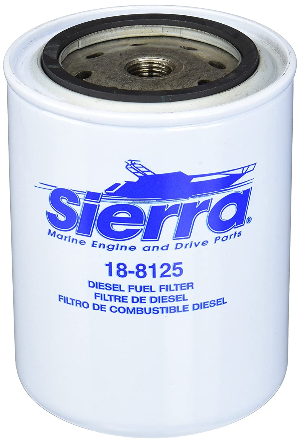 Sierra 18 8125 Diesel Fuel Filter For Volvo Penta Marine 1990 Jeep Wrangler Engines 3583443 Automotive
