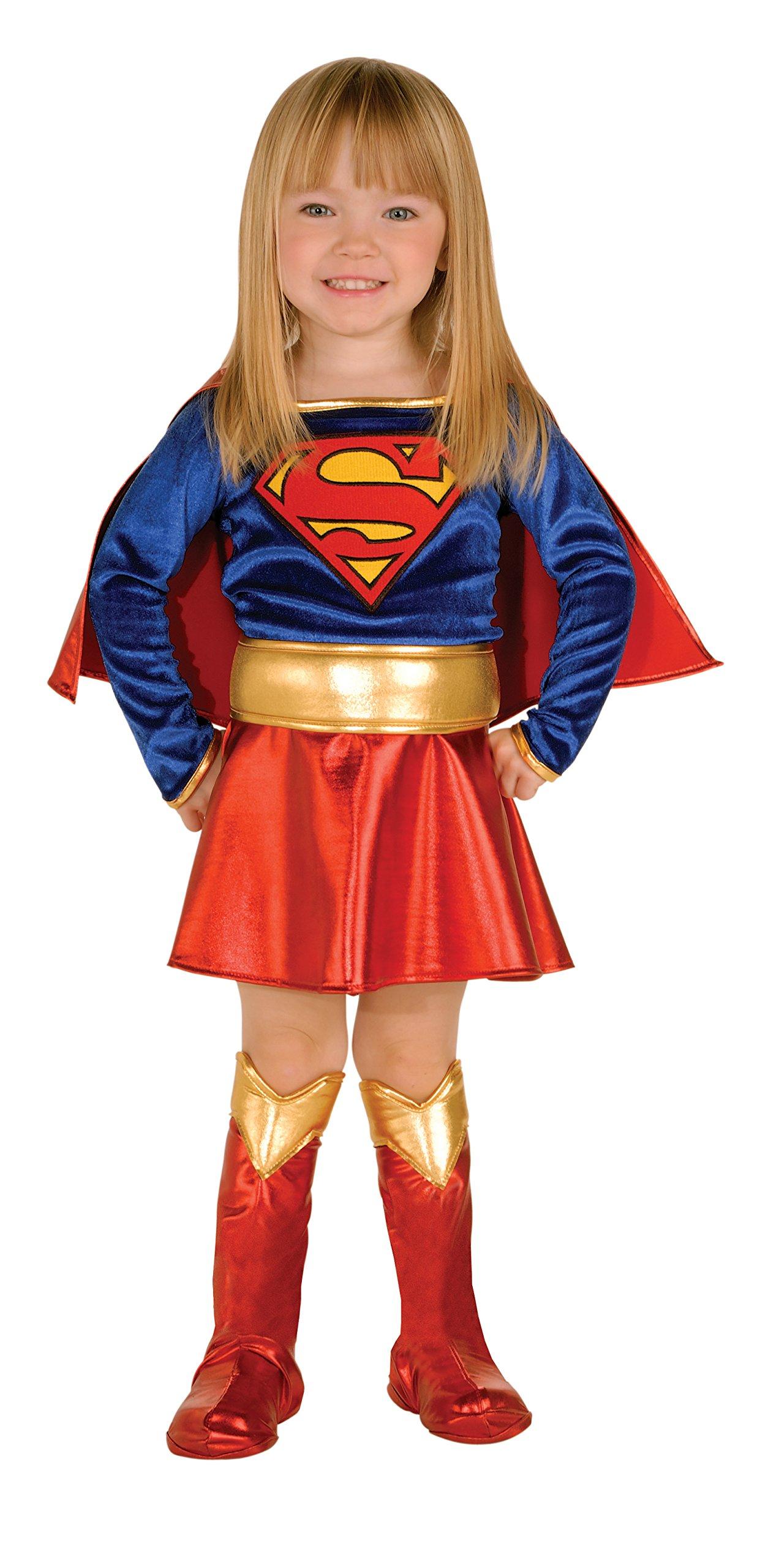 - 81x9JLb zvL - Child Supergirl Costume Deluxe Child Super Girl Costume 882314