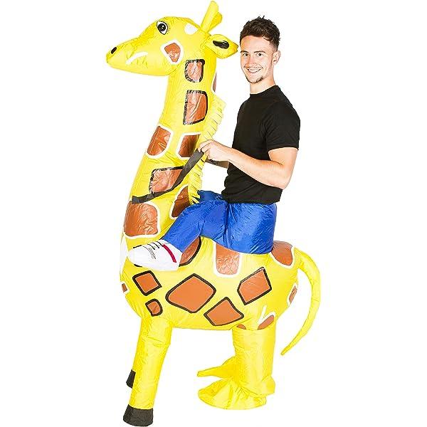 Bodysocks® Disfraz Hinchable de Gorila Adulto: Amazon.es: Juguetes ...