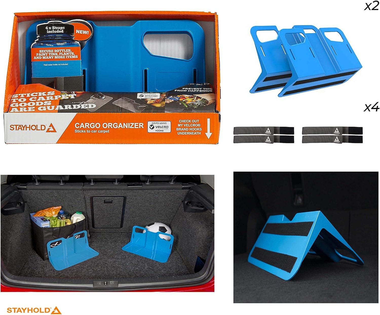 color azul Soporte organizador para maletero de coche Giftsbynet