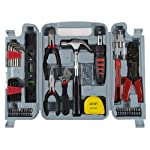 Stalwart 75-6037 Household Hand Tools, 130 Piece Tool Set